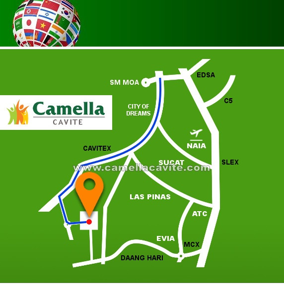 Camella Cavite Telephone - House for Sale in Cavite Philippines