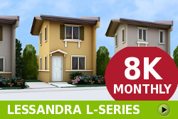 Lessandra Affordable Houses in Camella Cavite