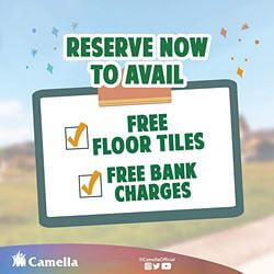 Promo for Camella Cavite.